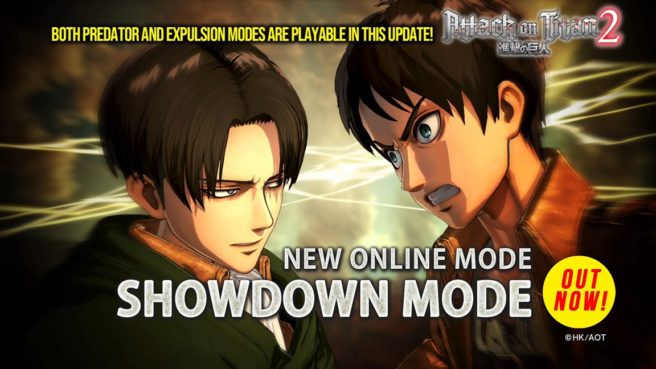 Attack on Titan 2 -Showdown Mode