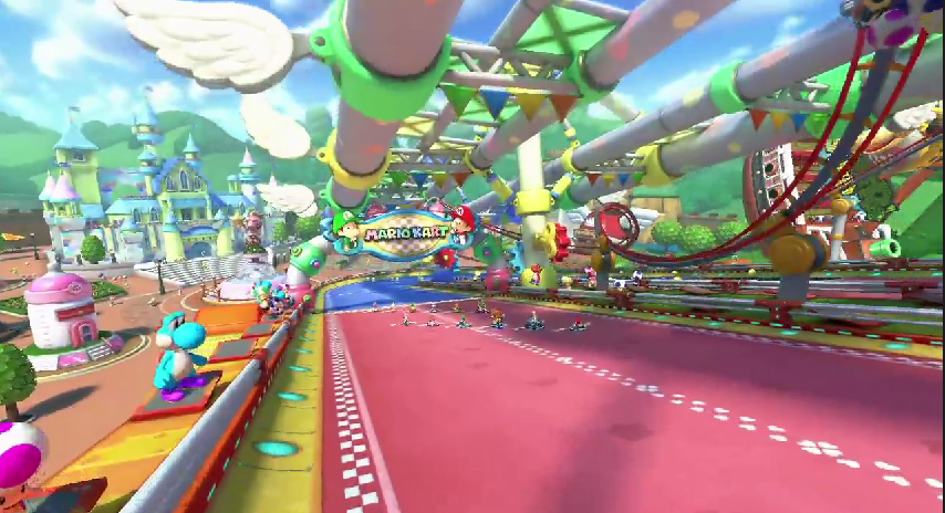 New Mario Kart 8 DLC courses revealed - Baby Park and more ...