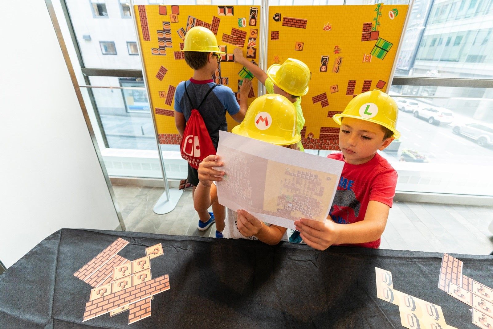Nintendo NY hosts back-to-school event, photos