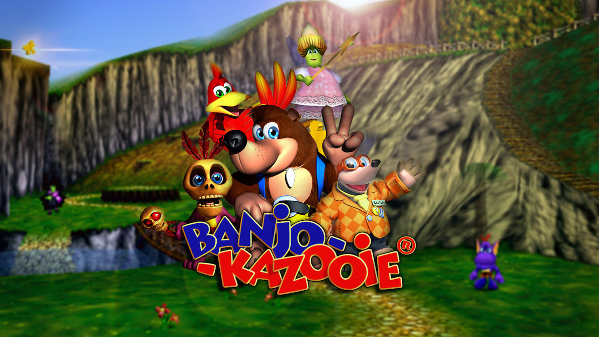Videos Rare On The Making Of Banjo Kazooie And Conker S Bad Fur