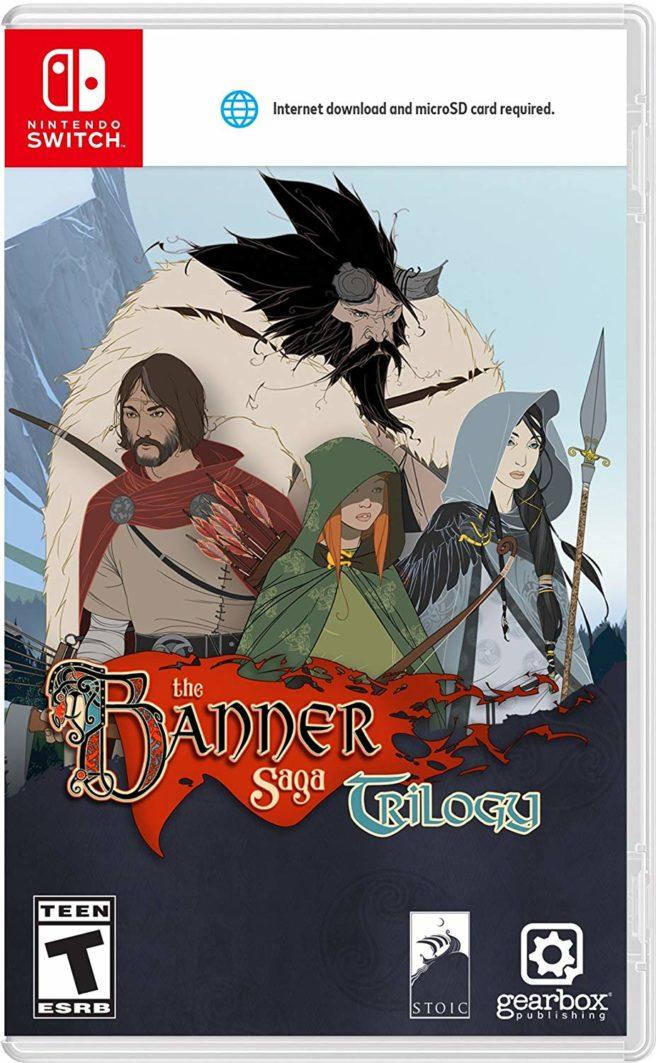 The Banner Saga Trilogy boxart