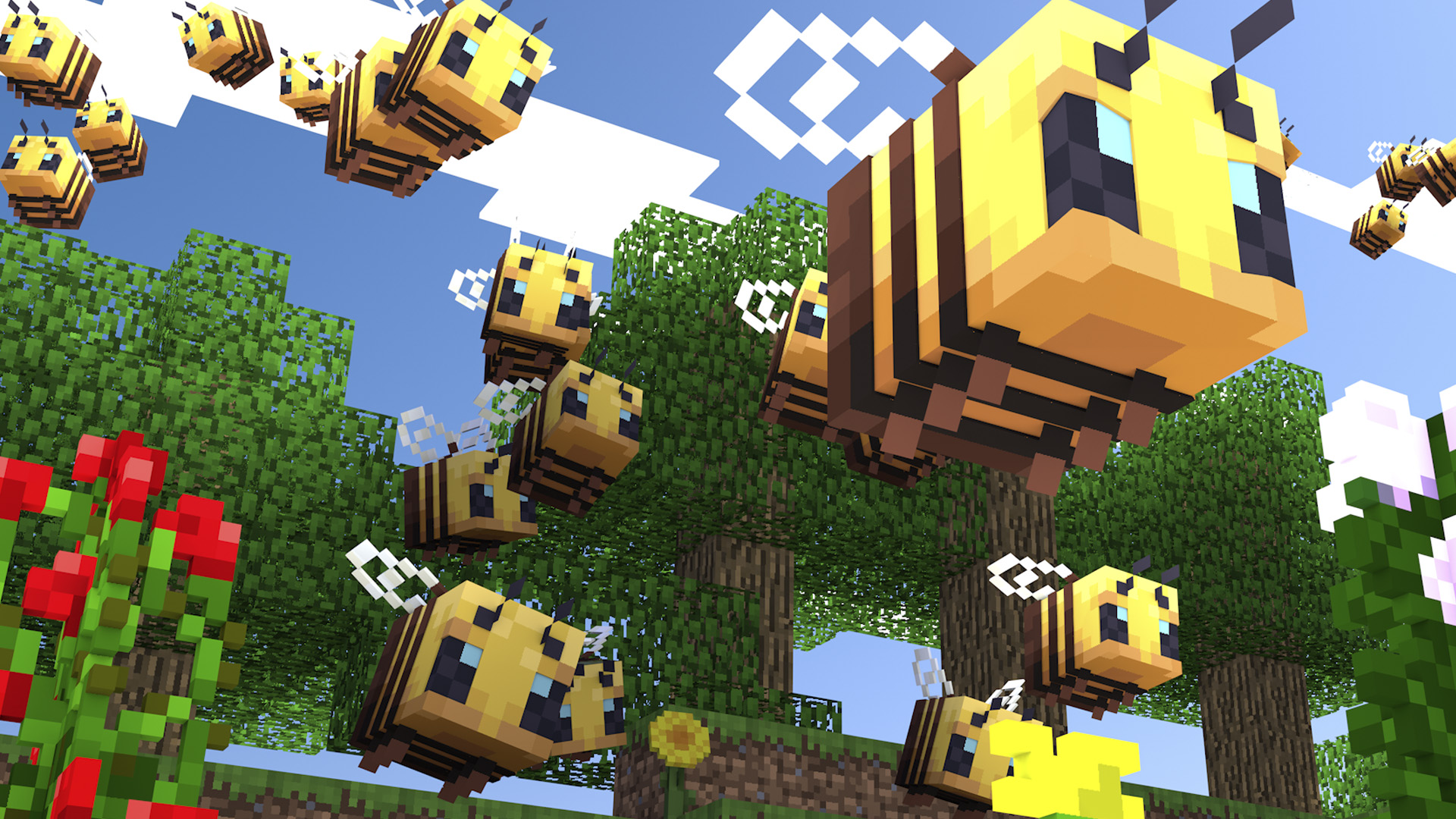 Minecraft update out today (version 110.11010.10) - PS10 cross-play, bees