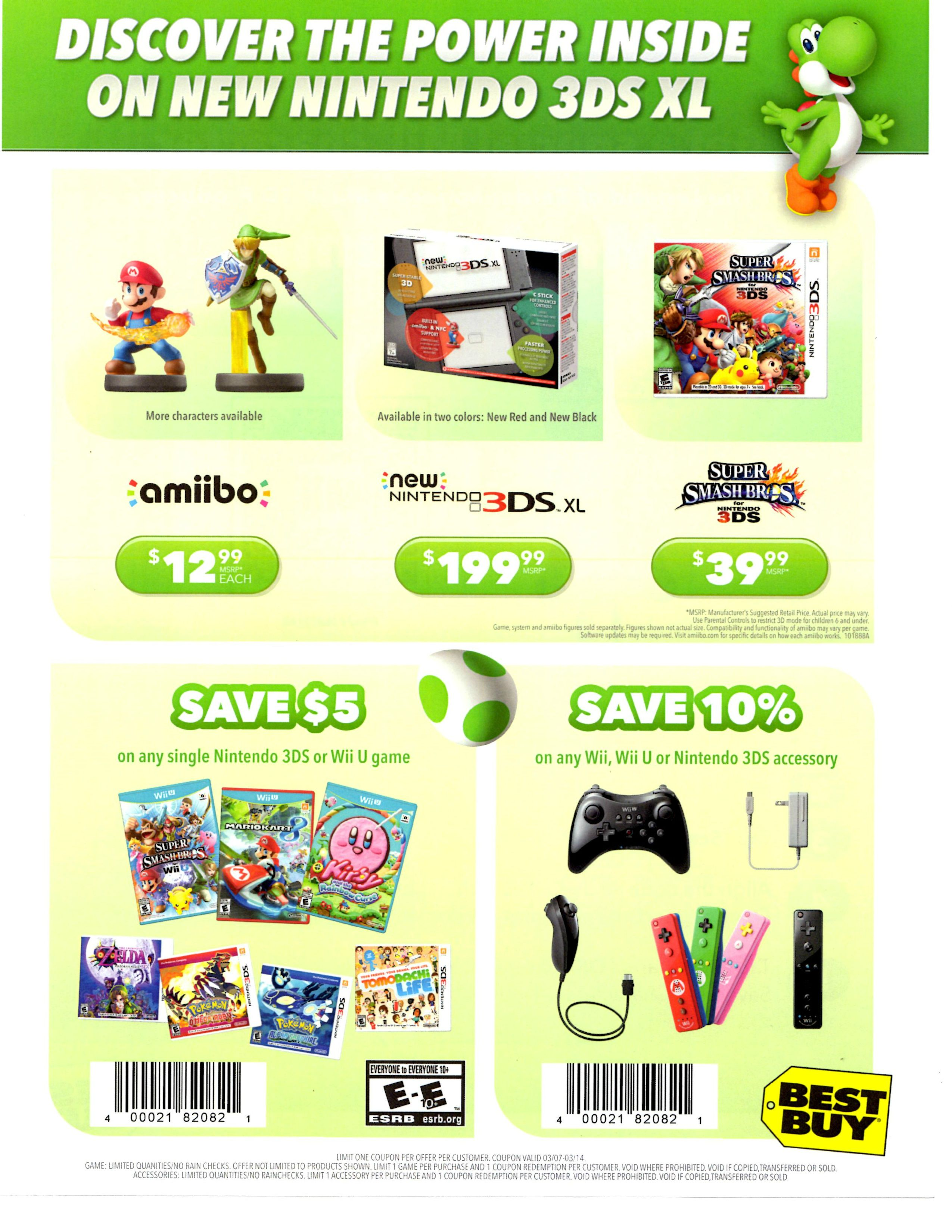 Coupon codes for nintendo 3ds