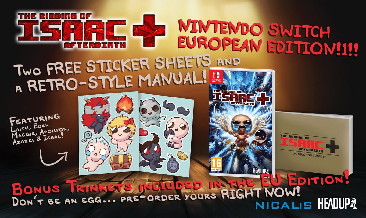 The Binding of Isaac: Afterbirth+ officially dated for September 7