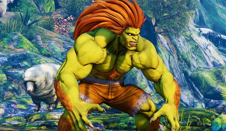 Street Fighter Producer Says Blanka Never Came Up In Smash Bros