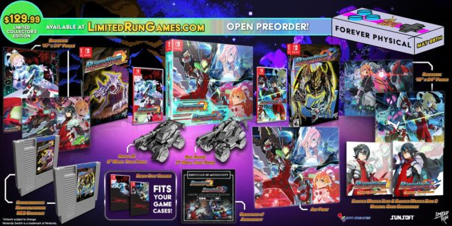 Blaster Master Zero 1 and 2 Collector's Edition