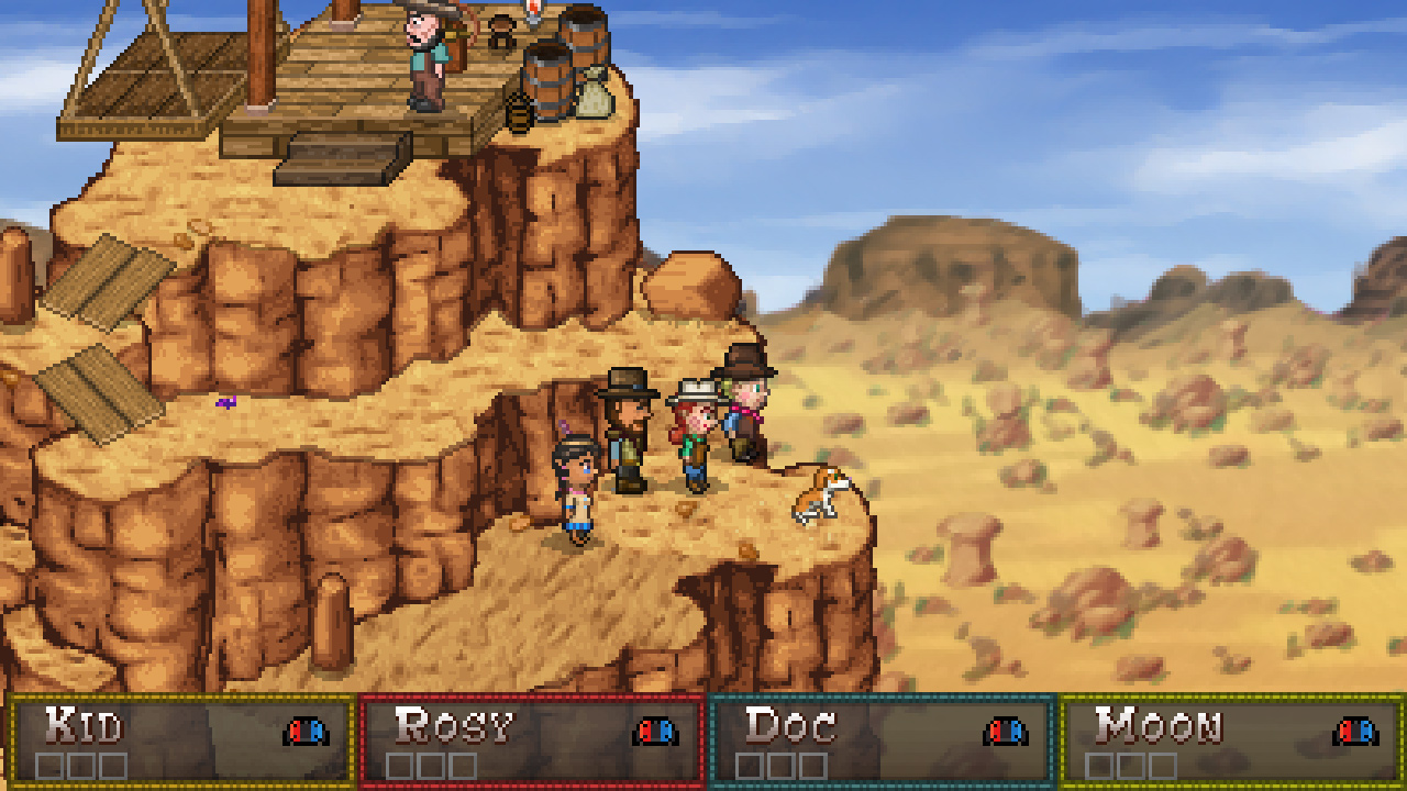 Retro RPG Boot Hill Bounties releasing on Switch in April - Nintendo Everything