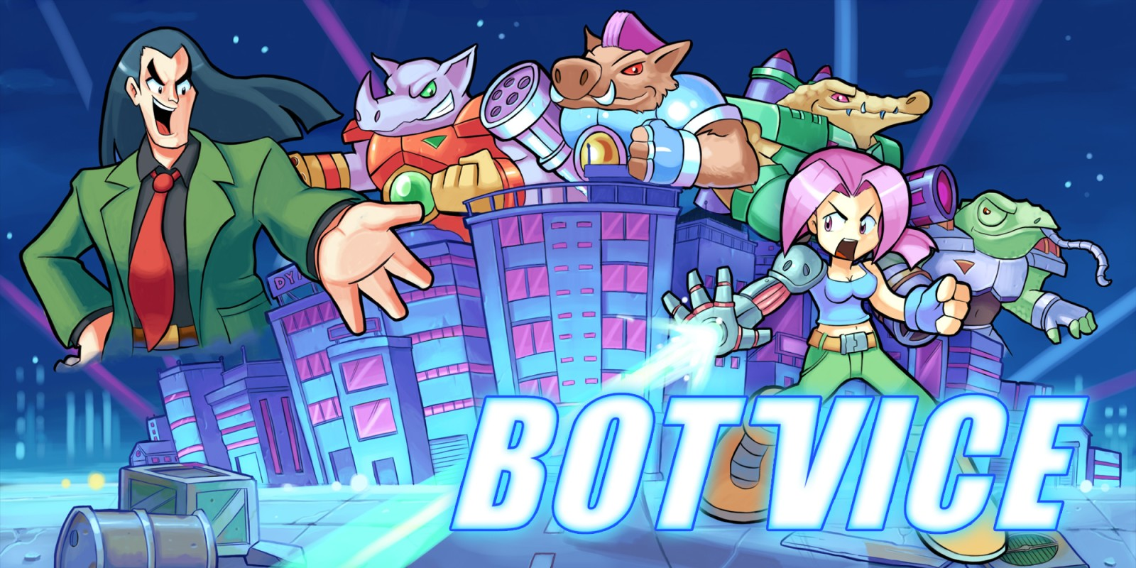 Bot Vice appearing on the Switch eShop in April
