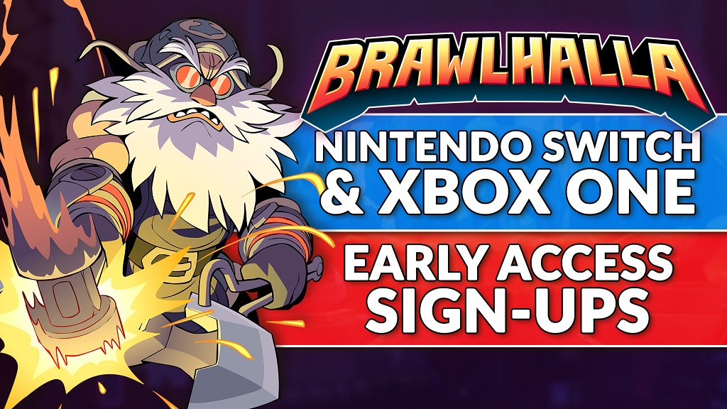 Brawlhalla offering early access sign-ups on Switch - Nintendo