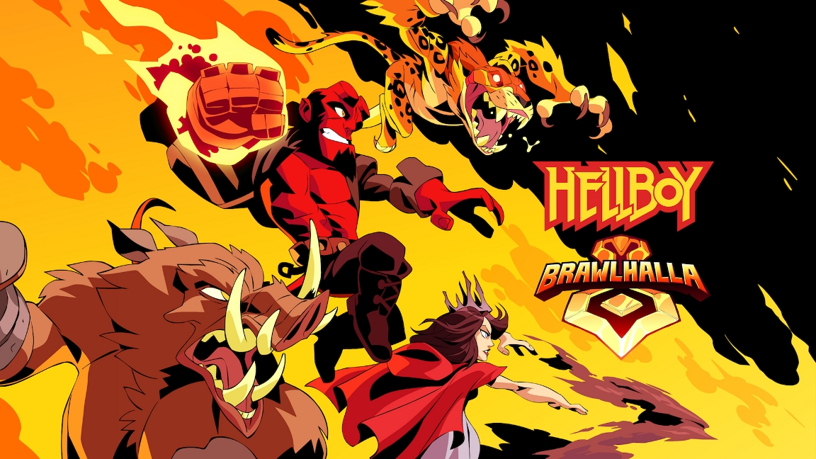 Hellboy collaboration goes live in Brawlhalla on April 10