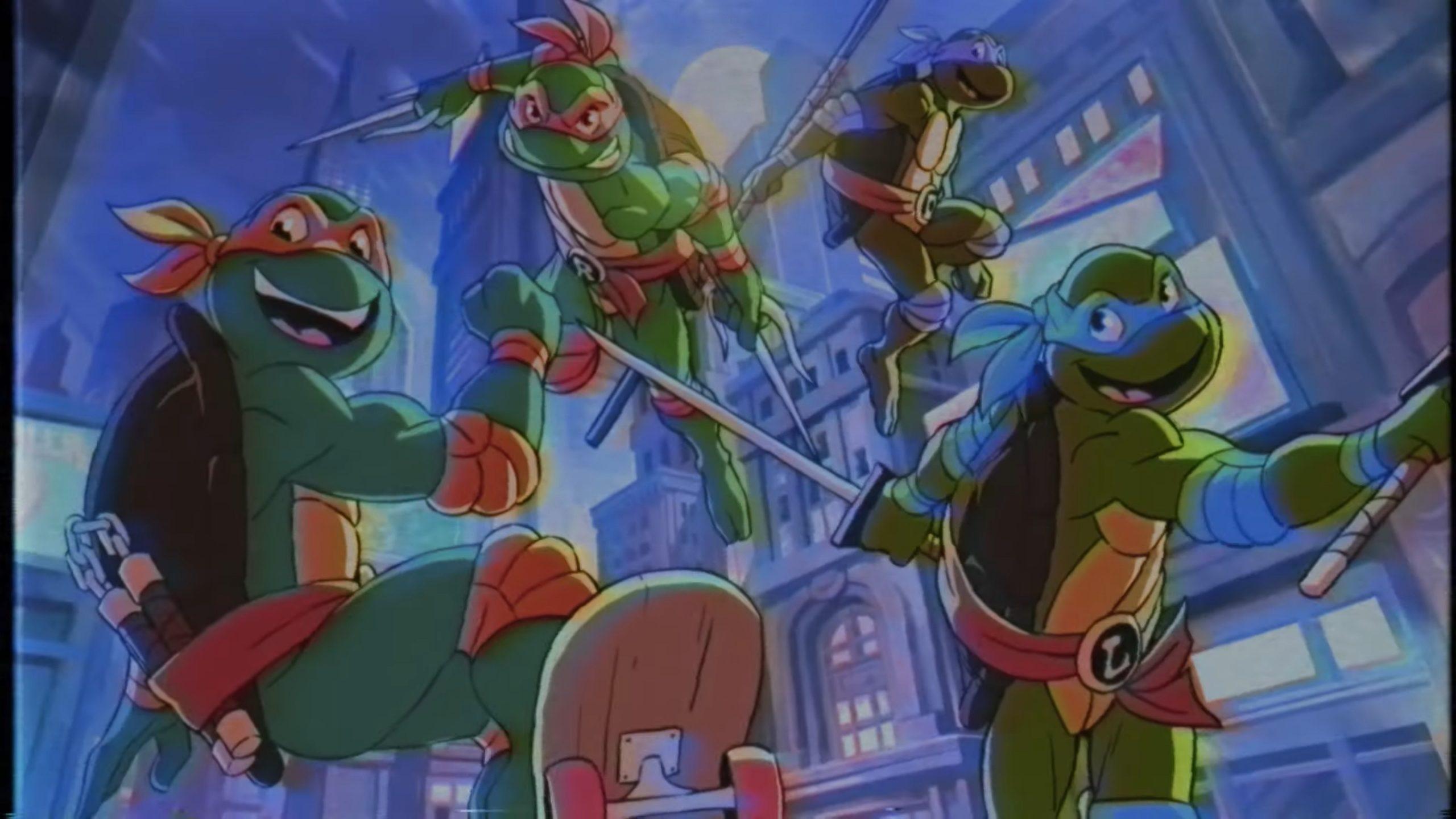 Brawlhalla Teenage Mutant Ninja Turtles