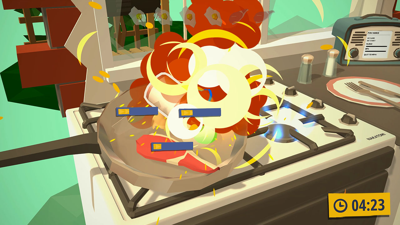 Food frenzy party game Brunch Club coming to Switch this month