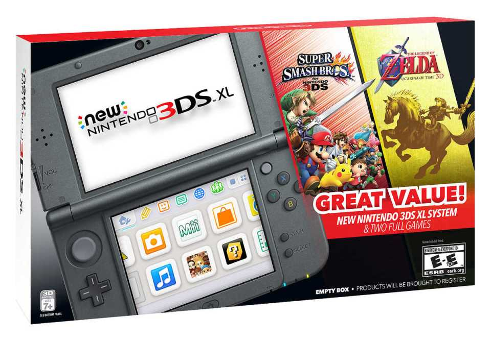 Costco Selling New 3ds Xl Bundle With Smash Bros And Zelda Ocarina Of Time 3d Nintendo Everything