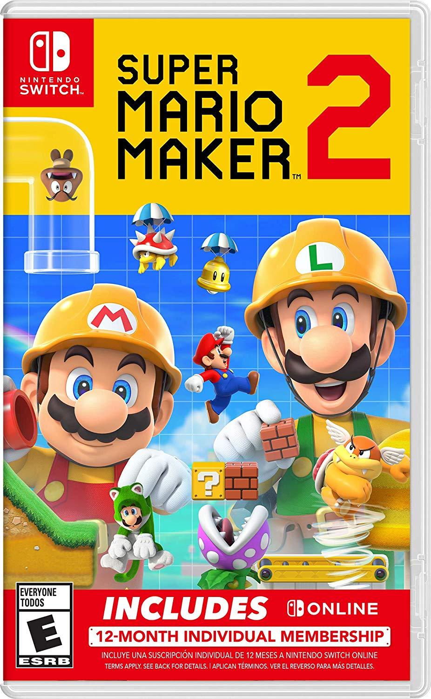 Super Mario Maker 2 + Nintendo Switch Online Bundle pre-orders open