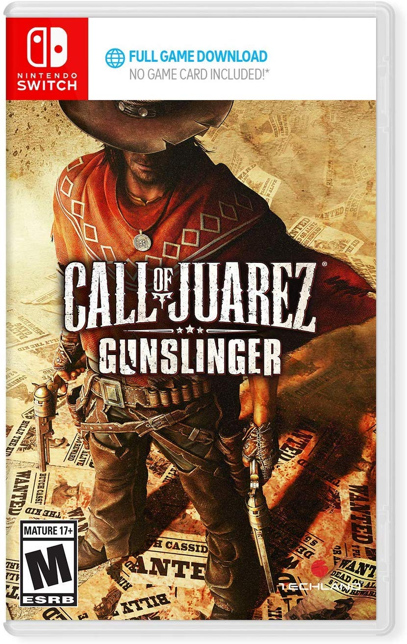 Call of Juarez: Gunslinger will be sold at retail, but only as a download code