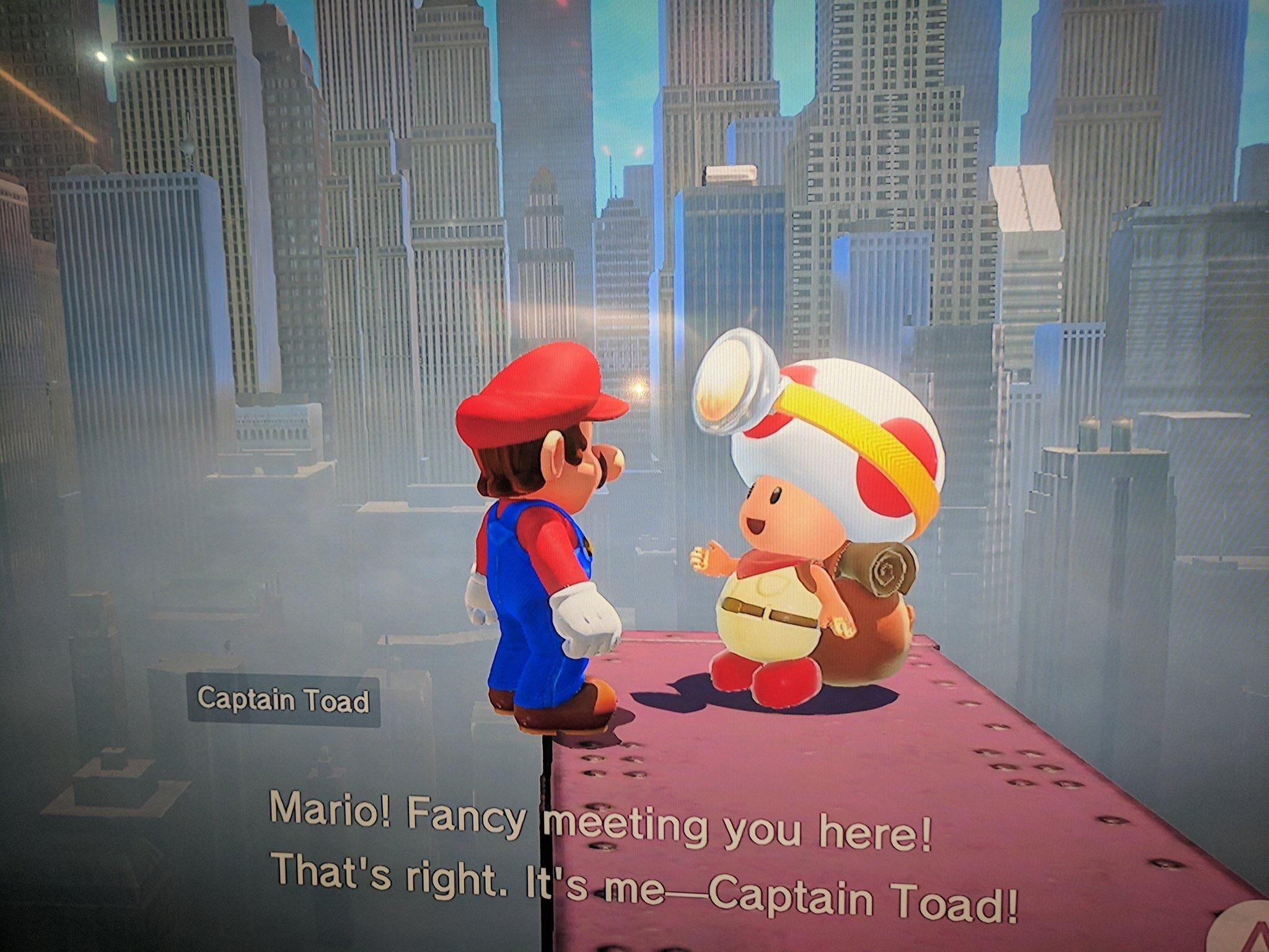 A Look At Captain Toad Mayor Pauline In Super Mario Odyssey Nintendo Everything