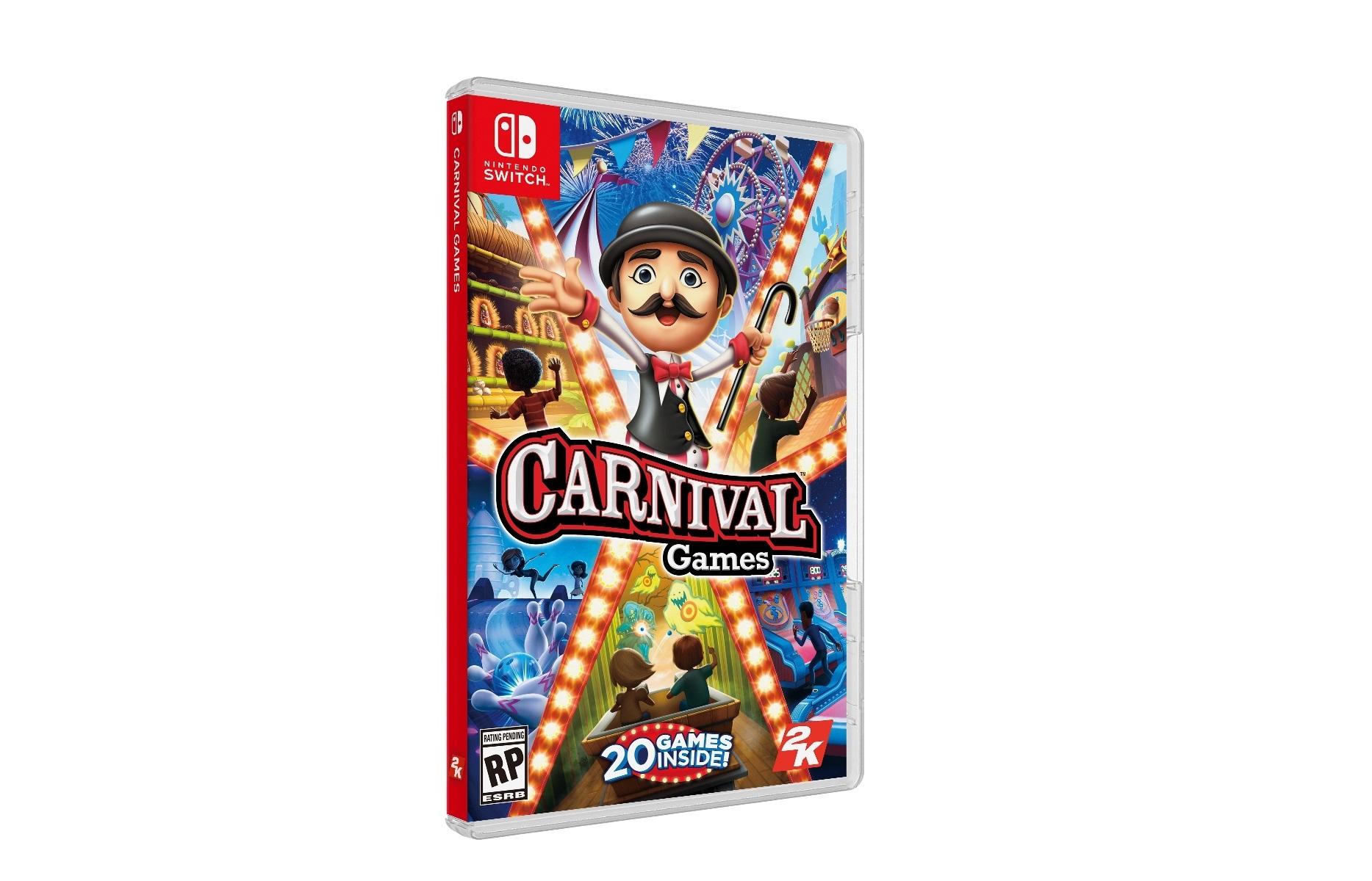 2K bringing back Carnival Games on Switch - Nintendo Everything