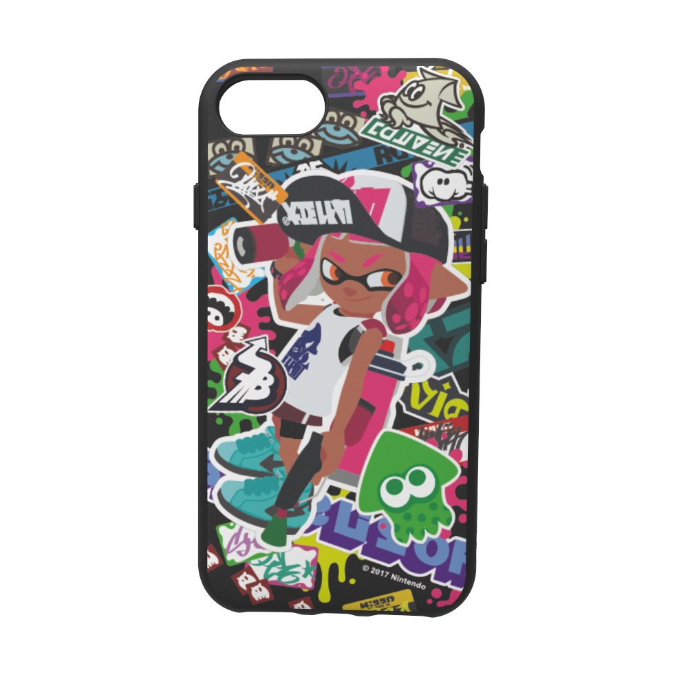 My Nintendo Store offering Splatoon 2 and Animal Crossing iPhone cases in Europe