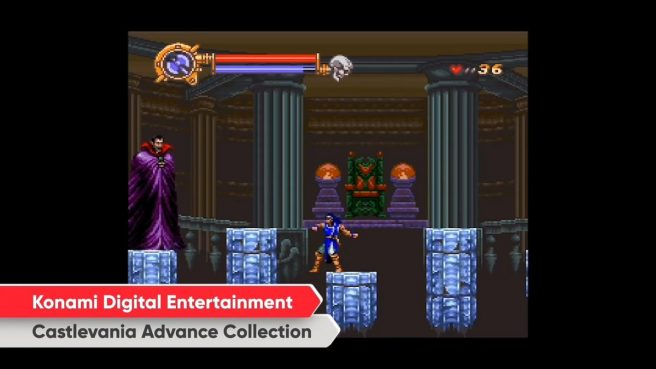 castlevania advance collection switch