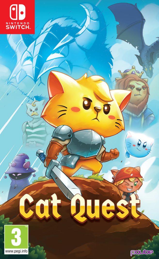 Cat Quest boxart