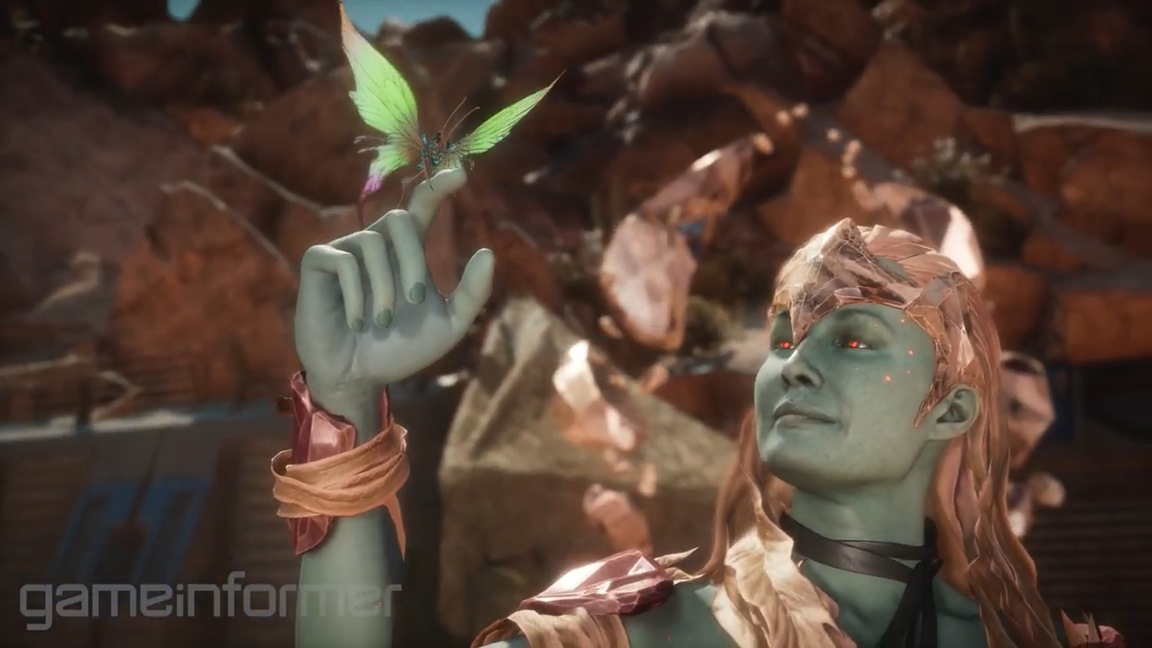 Cetrion revealed for Mortal Kombat 11 - Nintendo Everything