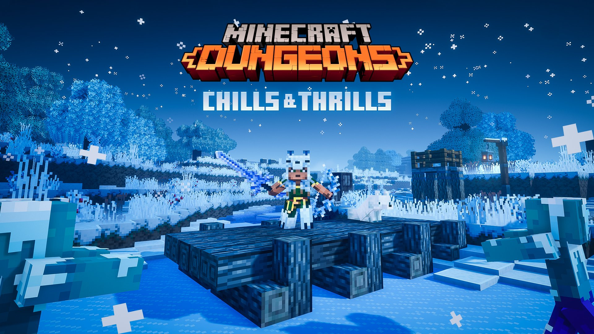 Minecraft Dungeons update out now (version 110.110.110.10), Chills
