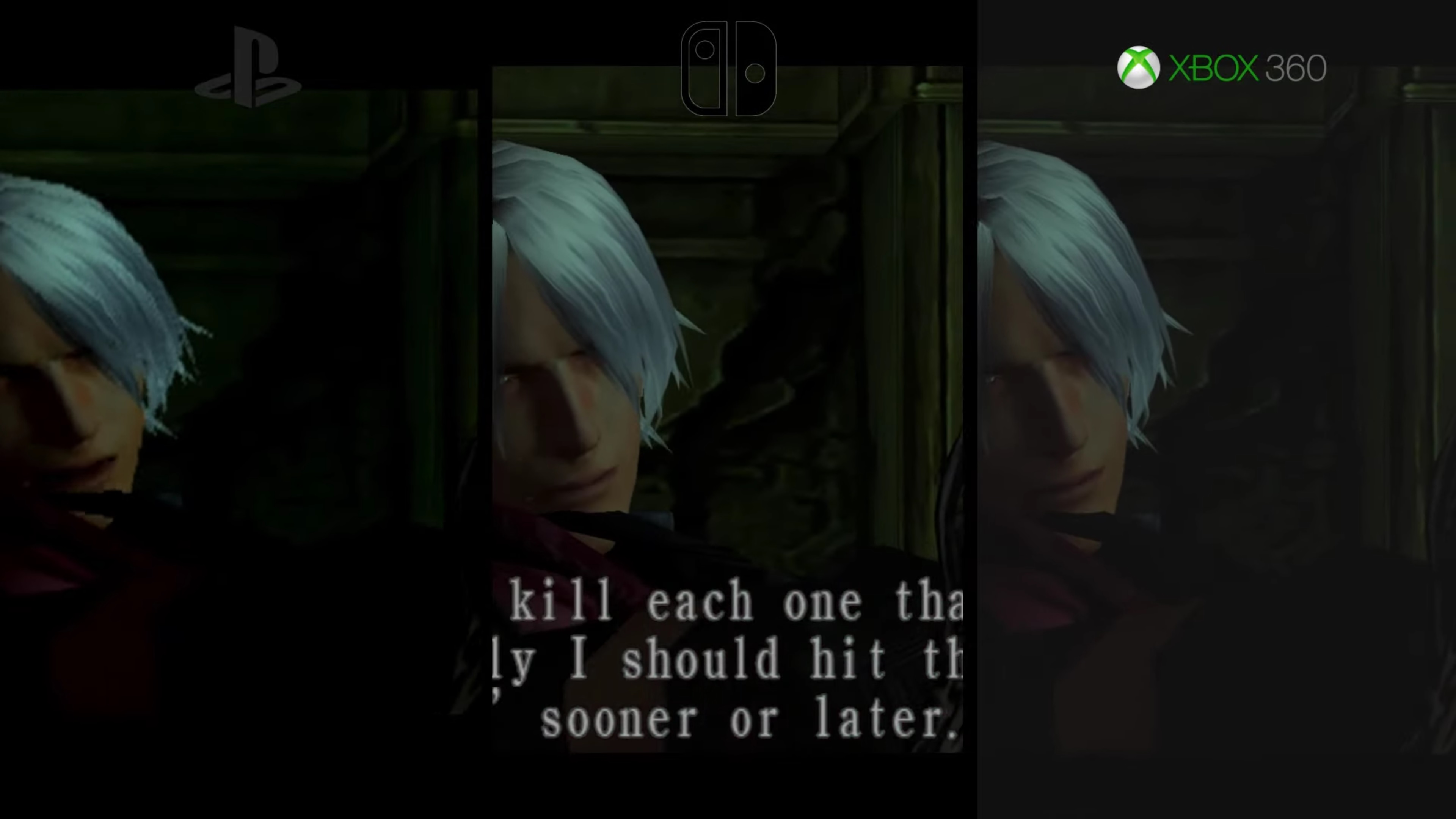 Devil May Cry Switch vs  Xbox 360 vs  PS2 graphics
