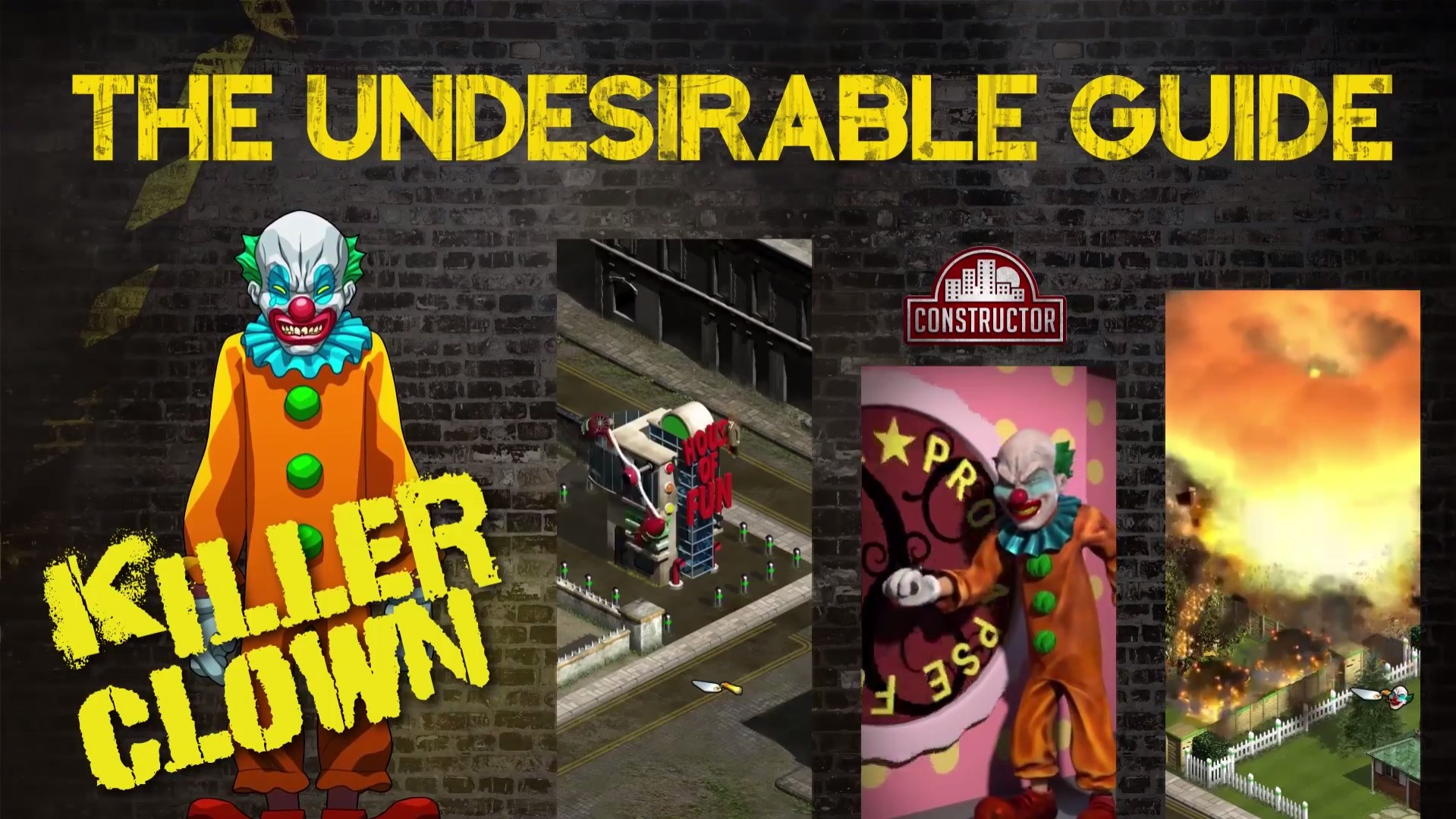 constructor introduces more new characters clown psycho nintendo