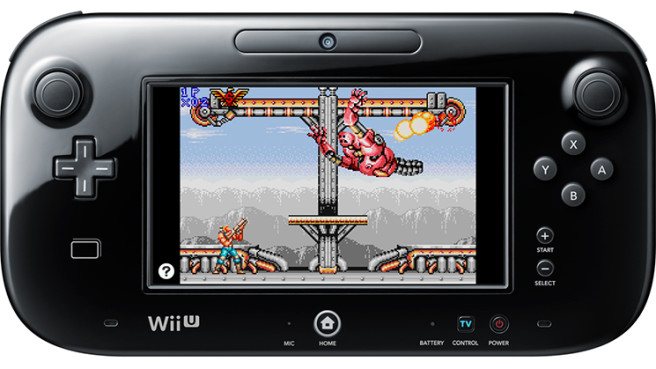 contra wii