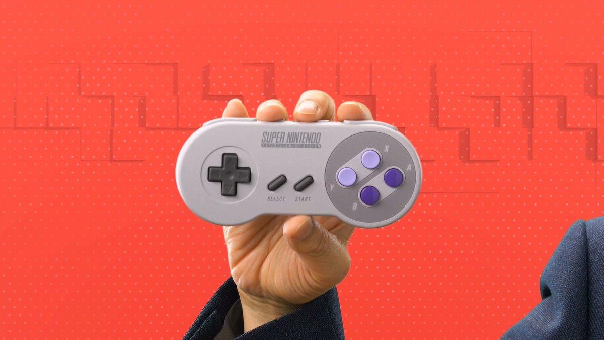 Super Nintendo Joystick - Nintendo Switch Online