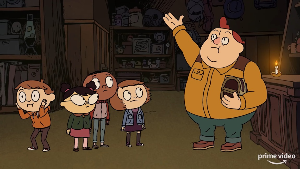 Costume Quest animated series debut trailer, releases March 8