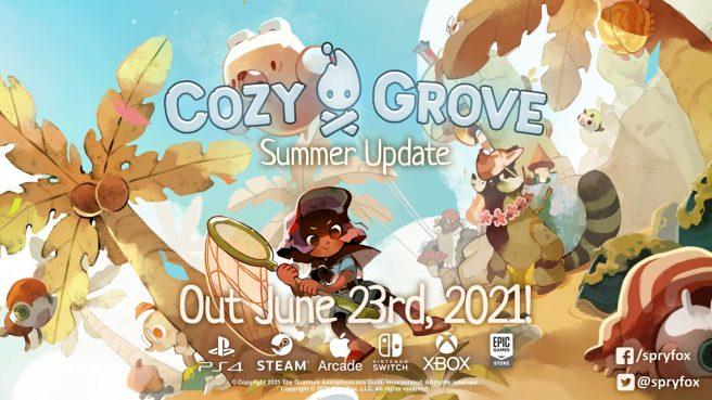 """Cozy Grove - """"Summer Update"""""""