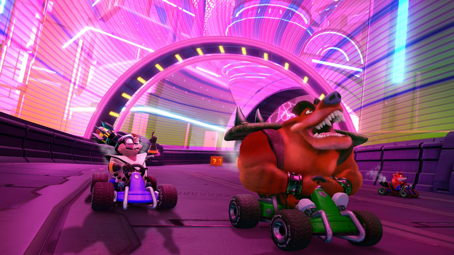 Crash Team Racing Nitro-Fueled dev explains how Crash Nitro