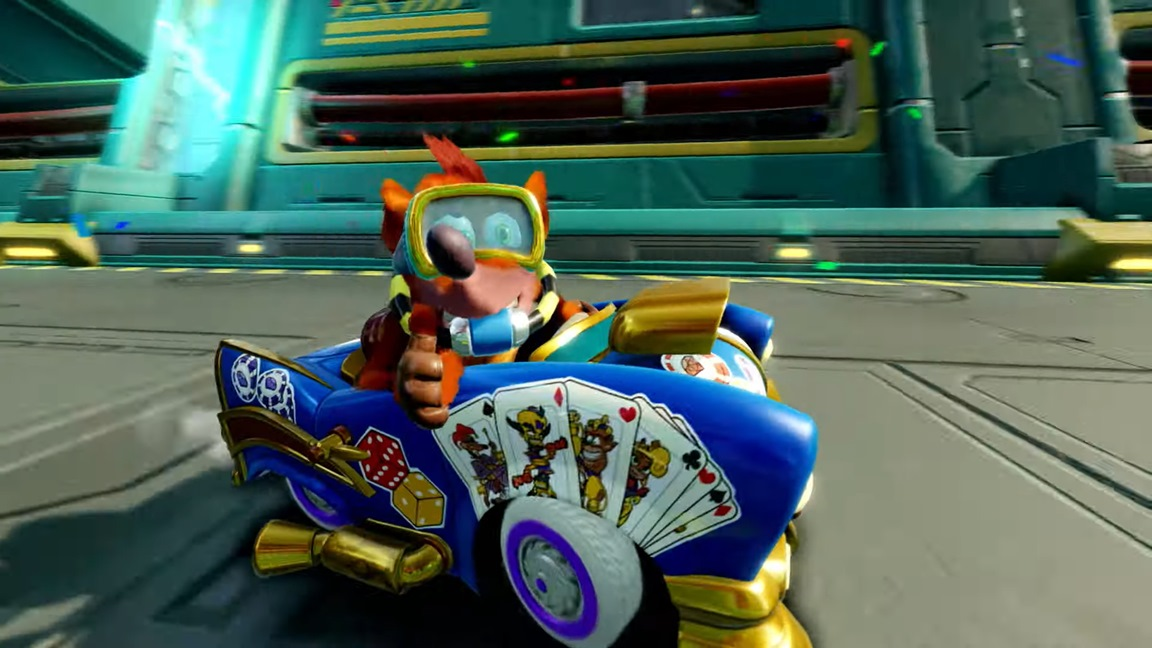 New Crash Team Racing Nitro-Fueled trailer reveals customization