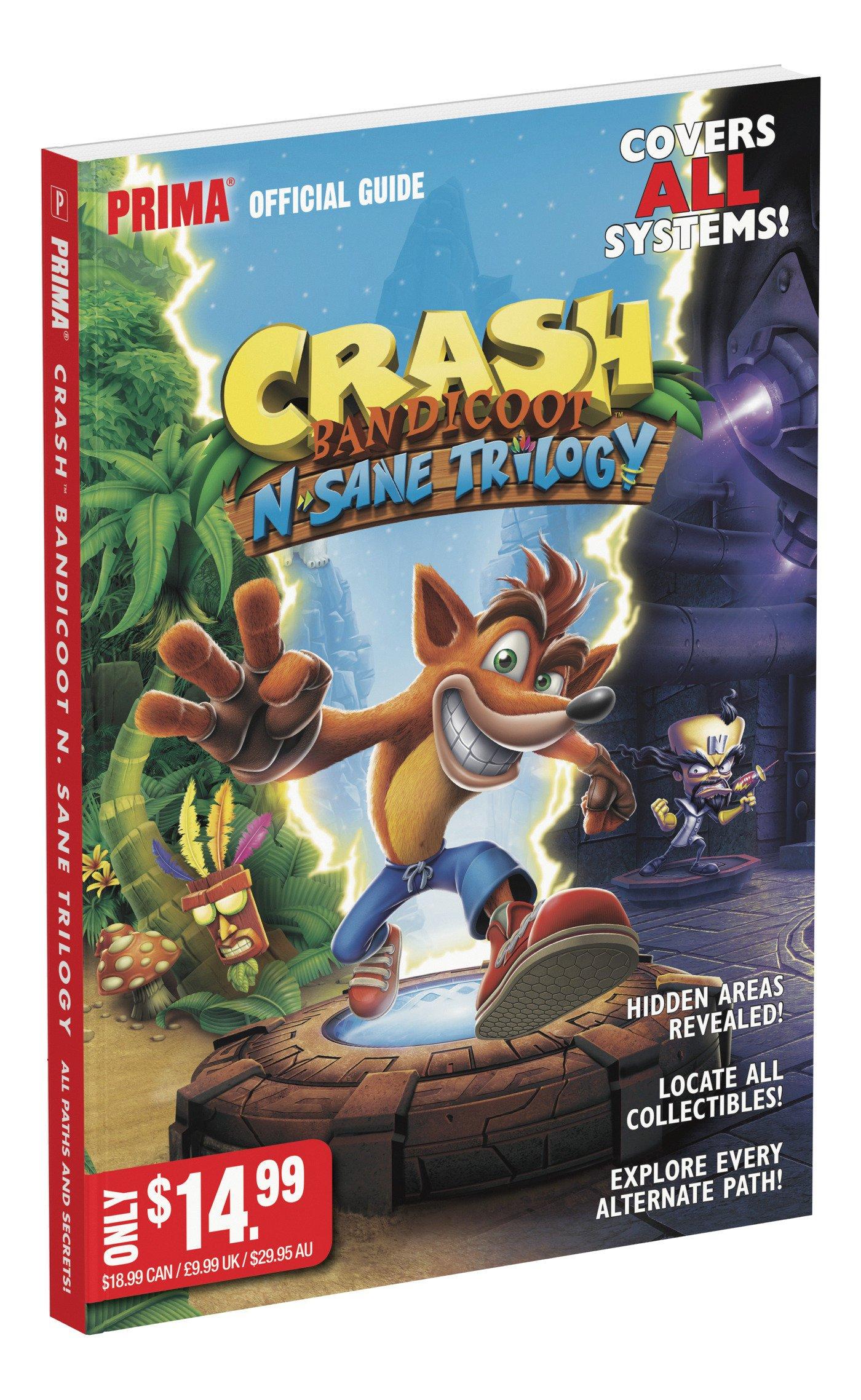 crash bandicoot n sane trilogy getting an official guide nintendo