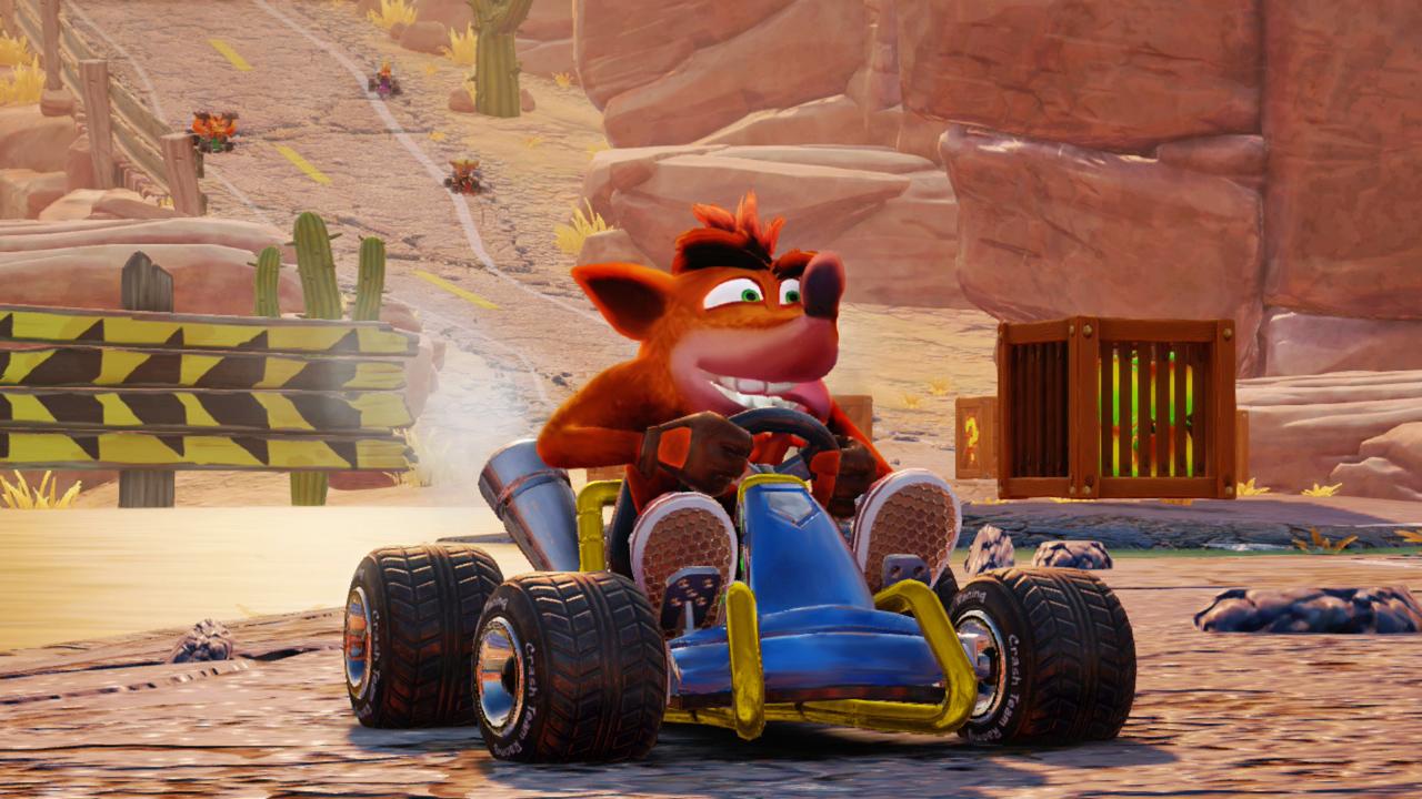 Review] Crash Team Racing Nitro-Fueled - Nintendo Everything