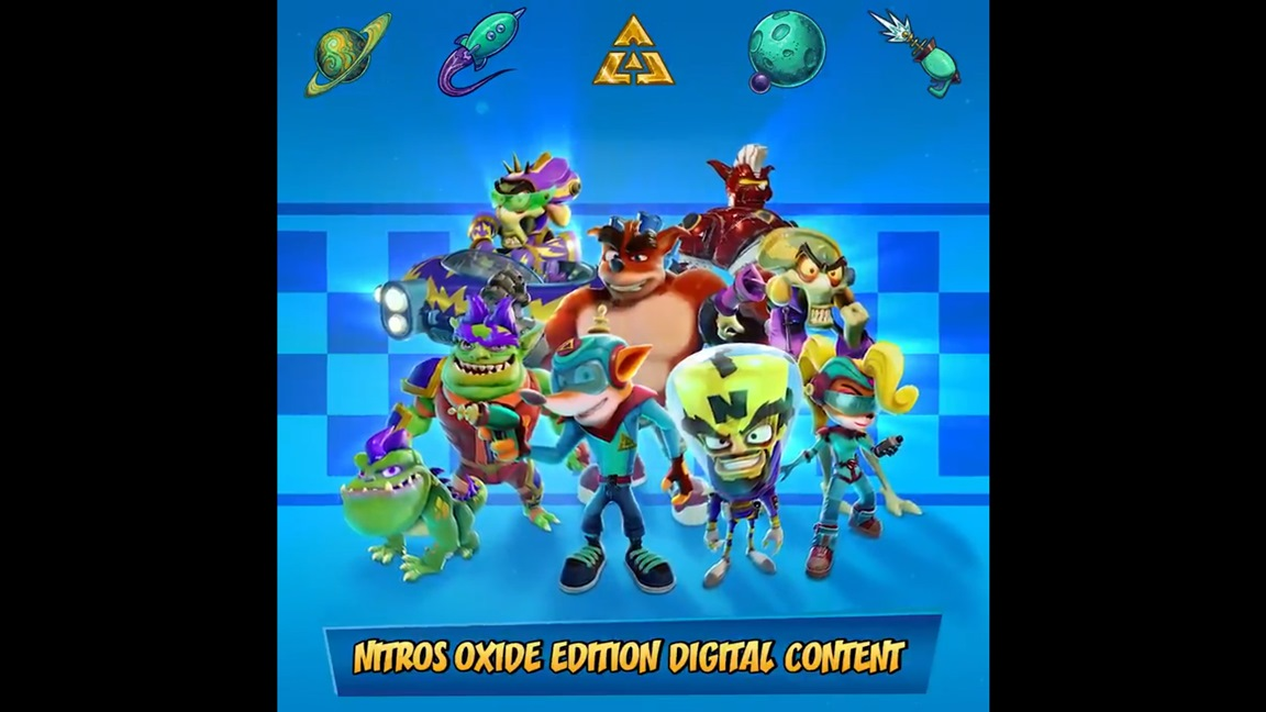 Video: A look at Crash Team Racing Nitro-Fueled - Nitros Oxide