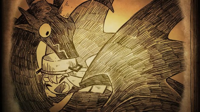 The Cruel King and the Great Hero story