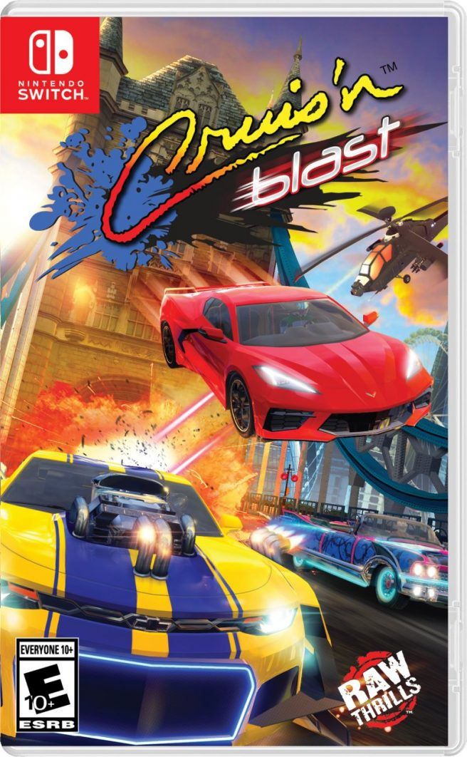 Cruis'n Blast boxart