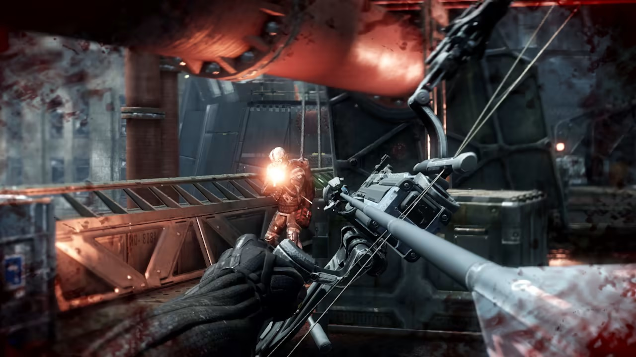 Crysis 2 3 Remastered gameplay