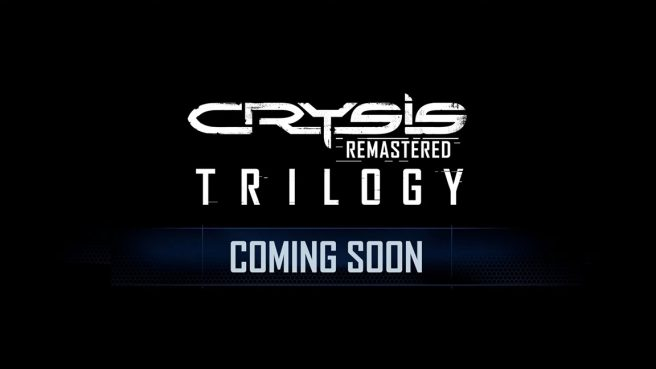 Crysis Remastered Trilogy release date