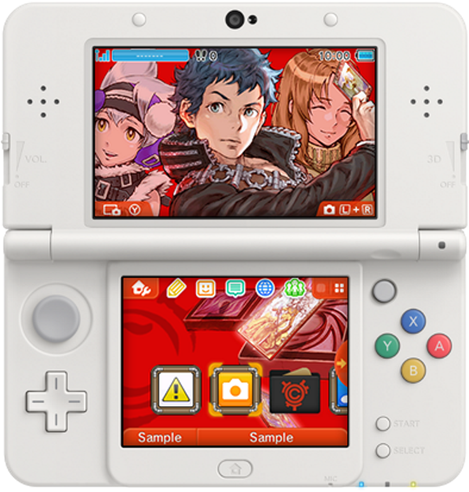 looking to expand your library of 3ds themes in north america a new design based on culdcept revolt is available best of all its free