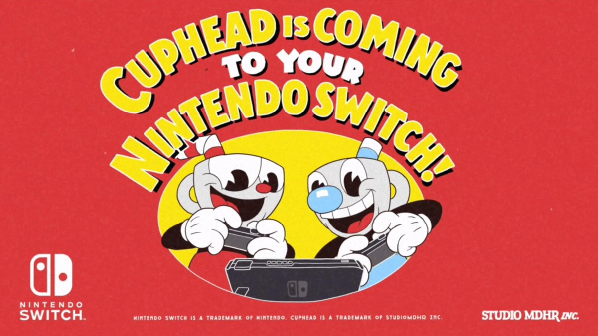 Cuphead confirmed for physical release on Switch - Nintendo
