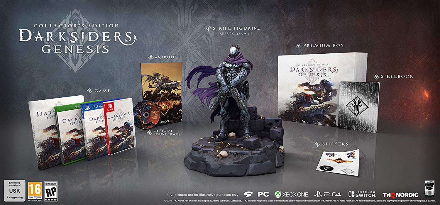 Darksiders Genesis Collector's Edition and Nephilim Edition