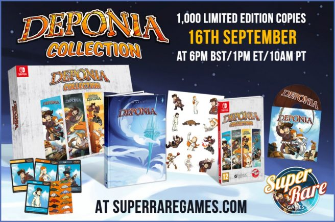 Deponia Collection physical