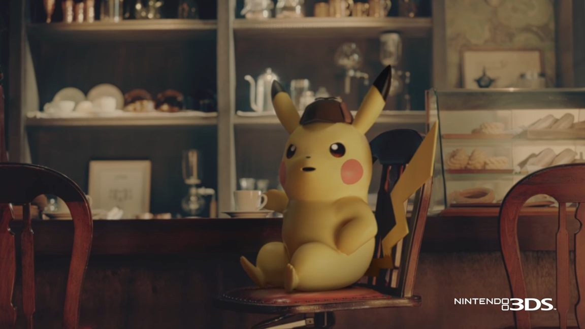 Detective Pikachu Devs On Why The Character Loves Coffee Nintendo
