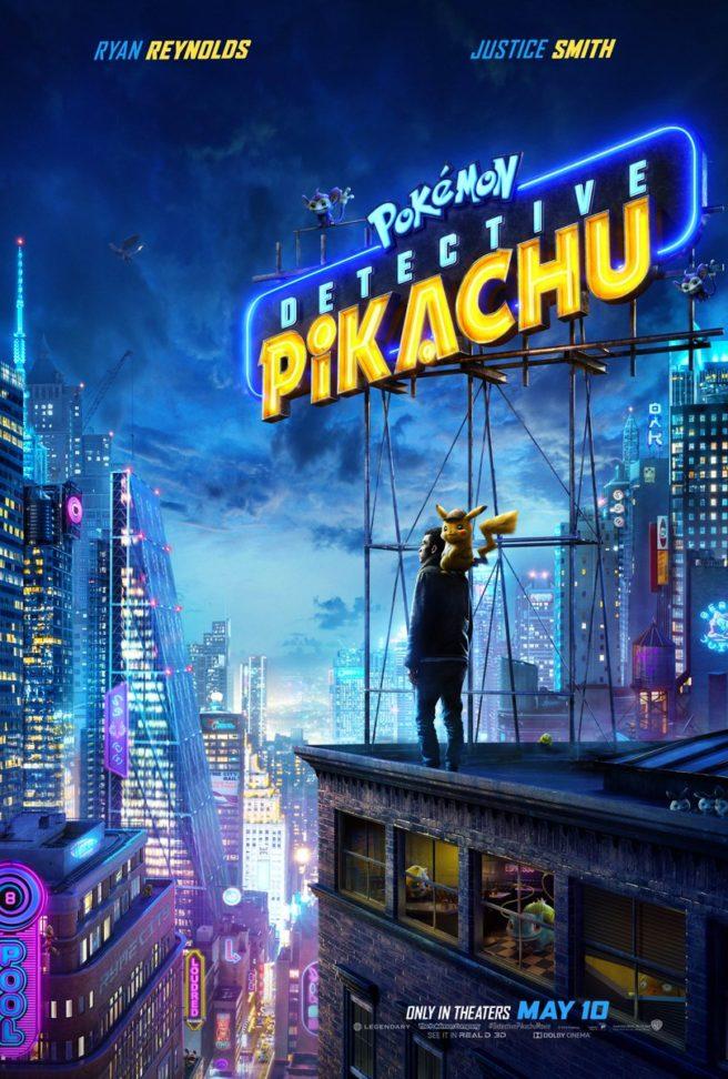new pokemon  detective pikachu poster  trailer