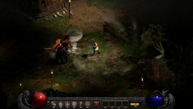 Diablo II Resurrected Switch