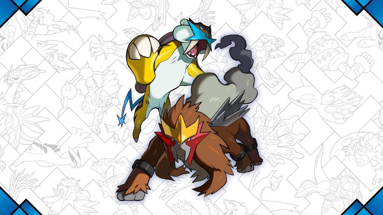 how to get entei in sun and moon