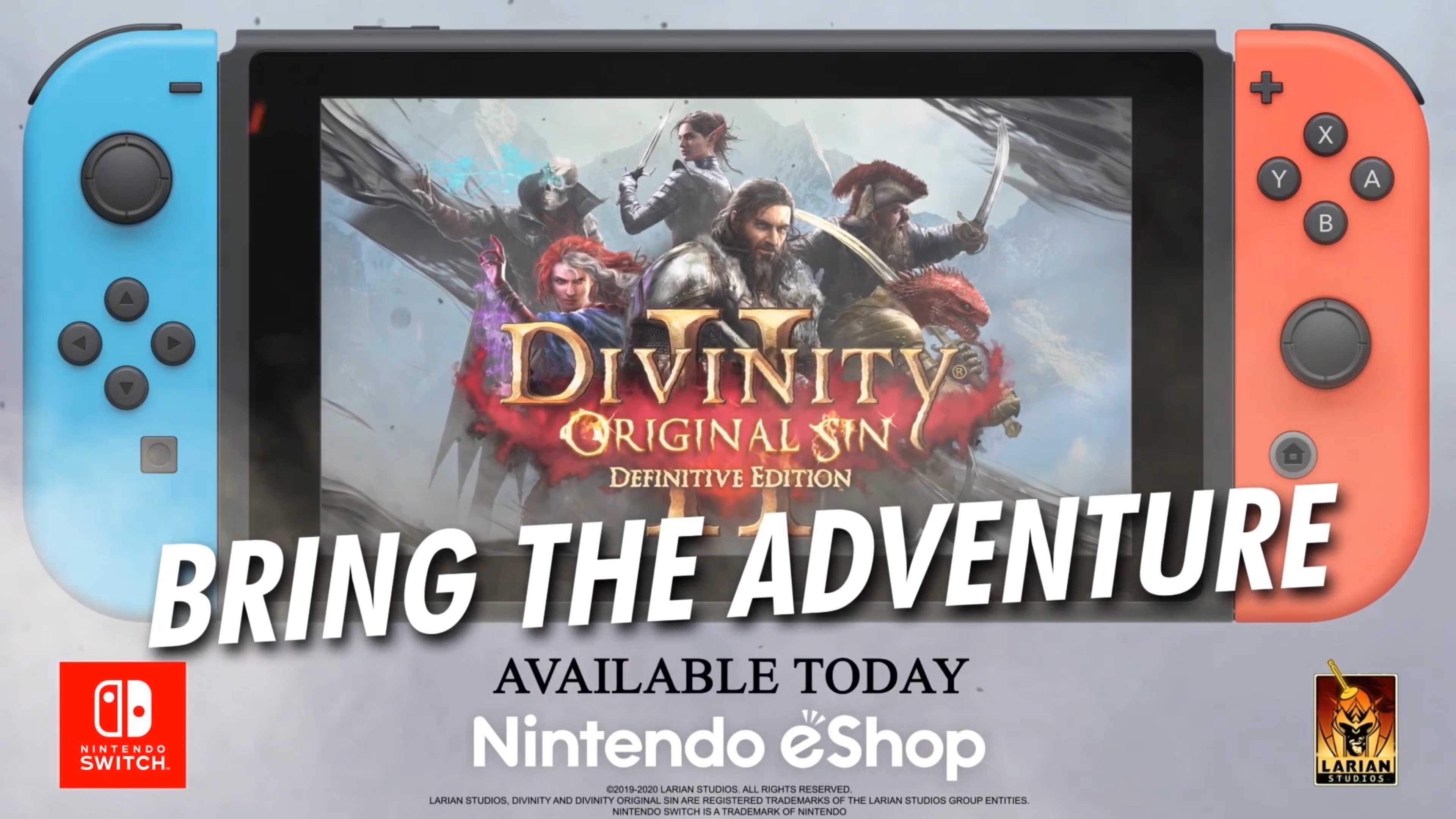 Divinity Original Sin 2 Definitive Edition Official Switch